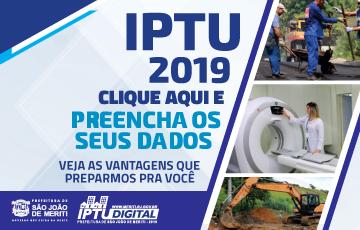 Cadastro IPTU 2019